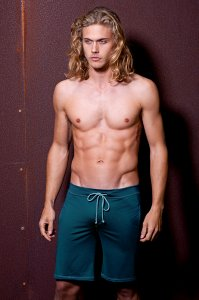 Sauvage Athletic Midlength Shorts Swimwear Teal 525
