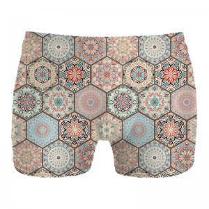 Mr. Gugu & Miss Go Pattern Boxer Brief Underwear UN1067