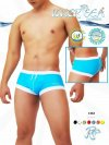 Icker Sea Contrast Trim Square Cut Trunk Swimwear 1342