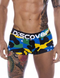 Discover Brasil Trunk Boxer Brief Underwear 90739