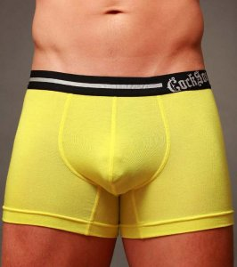 Cocksox Rock Star Waistband Boxer Brief Underwear Gold CX12MD
