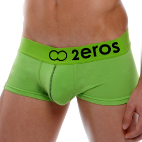 2EROS Icon 2 Boxer Brief Underwear Green U03-07