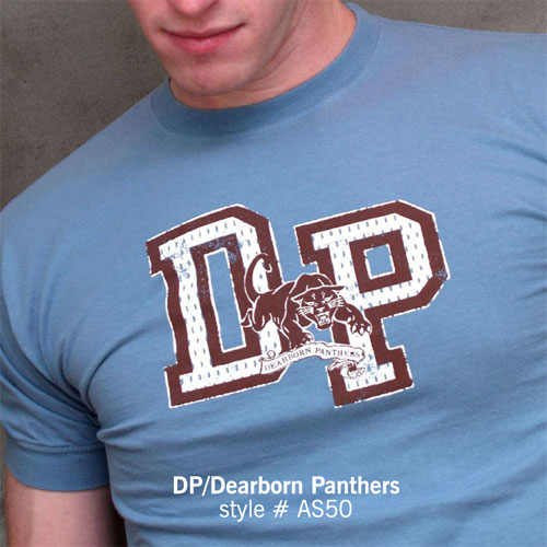 Ajaxx63 T Shirt Dearborn Panthers AS50