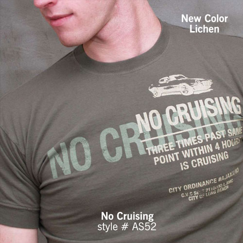 Ajaxx63 T Shirt No Cruising AS52