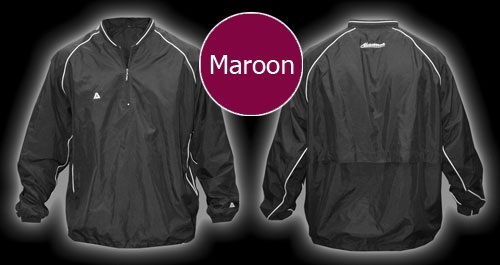 Akadema Batting Jacket Maroon SWRMU