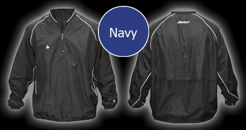 Akadema Batting Jacket Navy SWRMU
