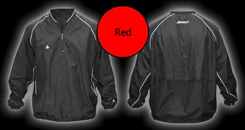 Akadema Batting Jacket Red SWRMU