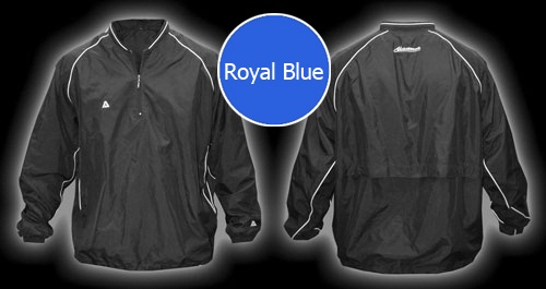 Akadema Batting Jacket Royal Blue SWRMU