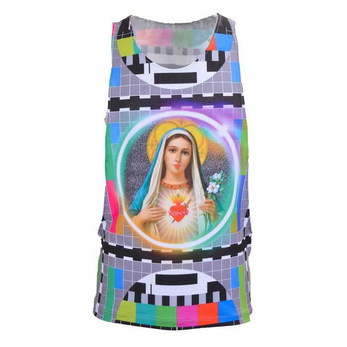 68d5194376ab8a Andreas Diofebi The Second Coming Madonna Tank Top T Shirt   Buy ...