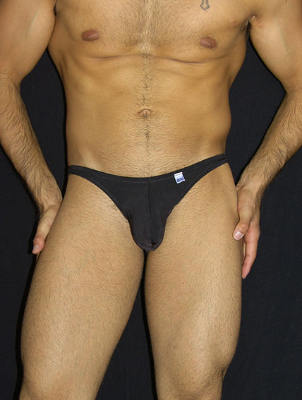 Arroyman Mini Slip Bikini Underwear Black MIN02