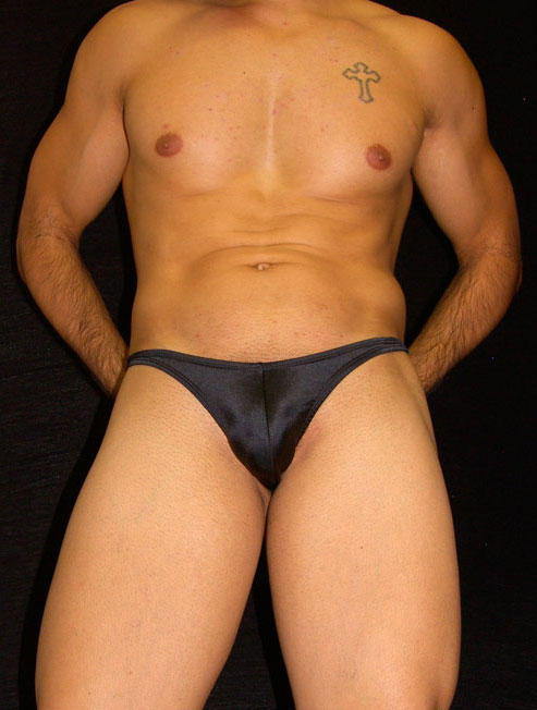 Arroyman Traditional Thong Underwear Black STN03