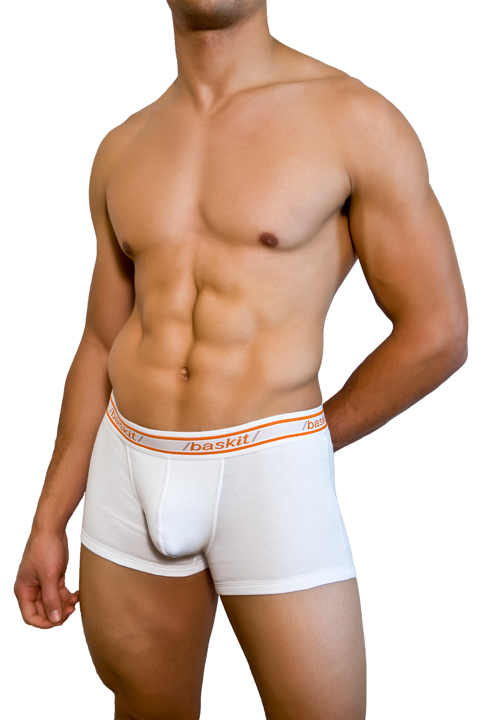 Baskit Urban Basics Low Rise Trunk White Underwear A1400