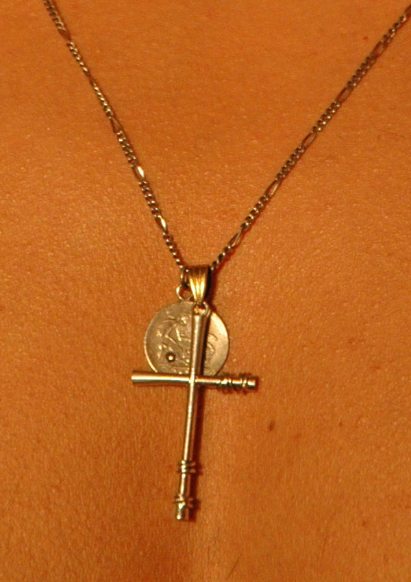 Bijoux Da Mano Necklace Cross Bow