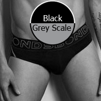 Bonds Active Brief Black/Greyscale 3387