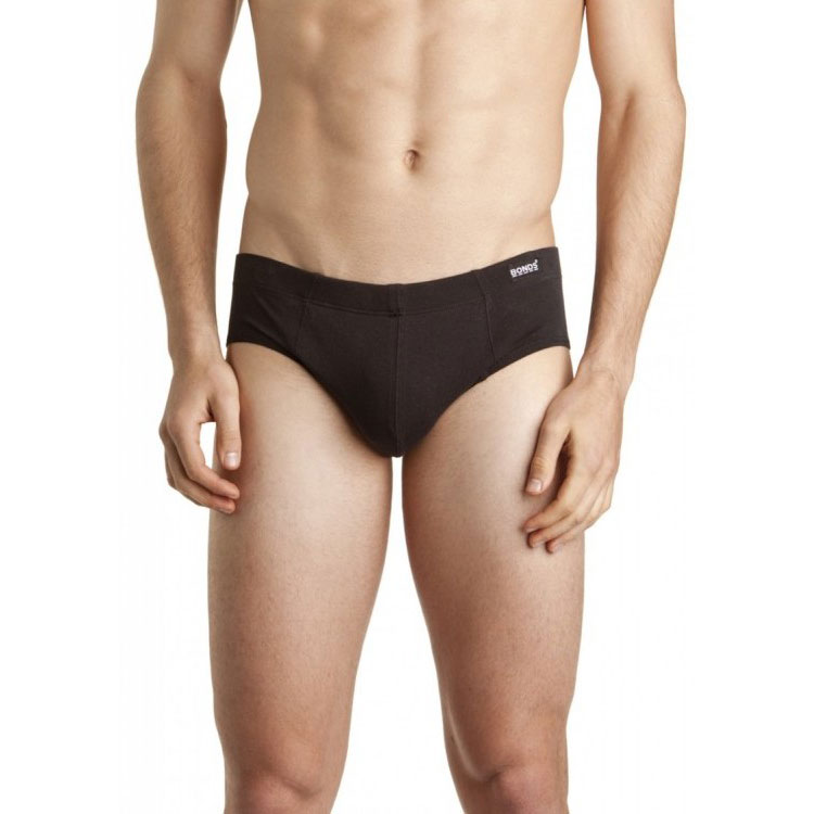 Bonds Hipster Brief Underwear Black 38HB6