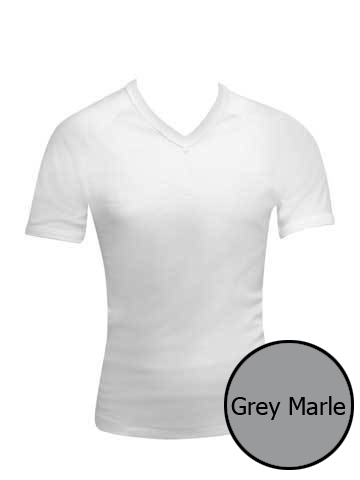 Bonds V Neck Raglan T Shirt Grey Marle 3976