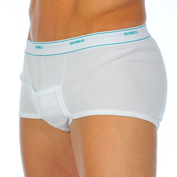 Bonds Support Cotton Interlock Brief Underwear White M821