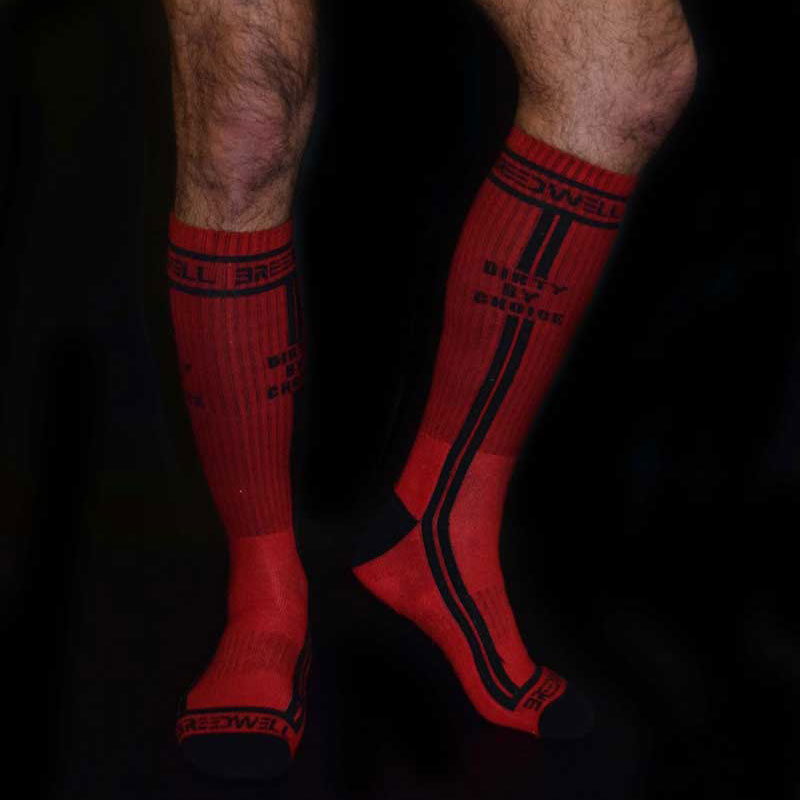 ce6e56d8700db Breedwell Dirty By Choice Socks Red BW00204 [BW00204] : Buy Men's ...