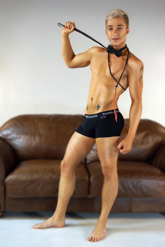 0cecd48a246b Bum-Chums Black Cotton Lycra Hipster Boxer Brief Underwear BCH4 ...