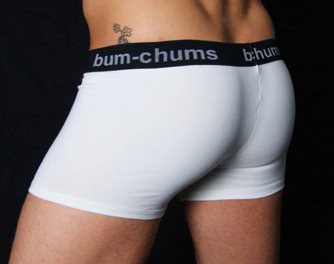 b2d0e5b016b1 Bum-Chums White Cotton Lycra Hipster Boxer Brief Underwear BCH5 ...