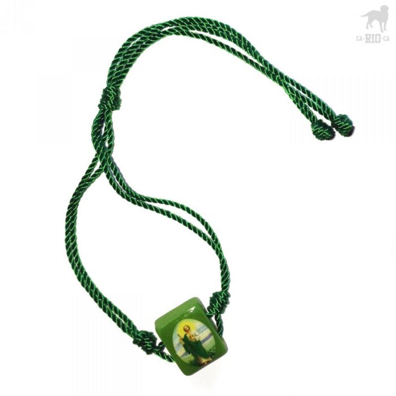 Ca Rio Rosary Rope Bracelet Jewelry Green Crc N203107