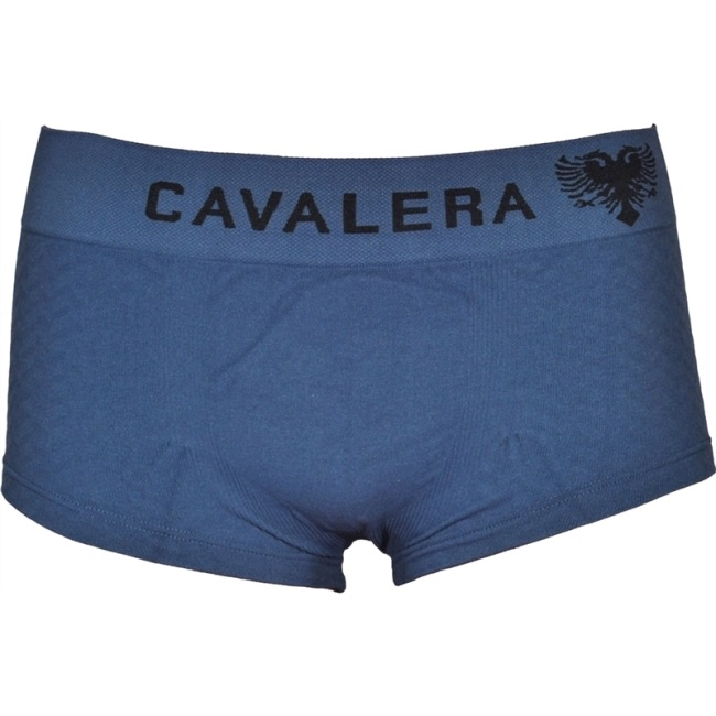 Cavalera Seamless Microfiber Trunk Boxer Brief Underwear Blue 445-01