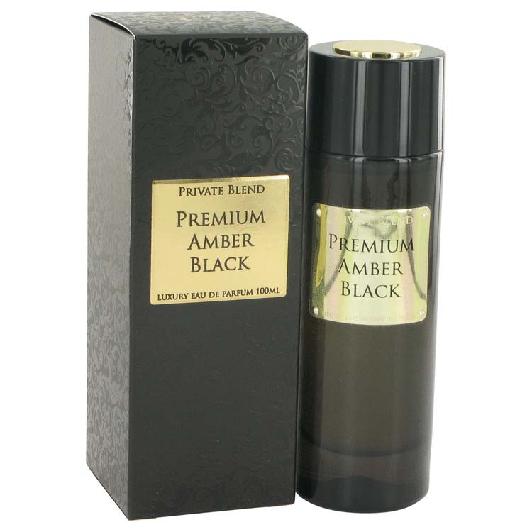 Chkoudra Paris Private Blend Premium Amber Black Eau De Parfum Spray 3.4 oz / 100.55 mL Men's Fragrance 516783