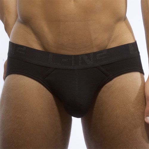 C-IN2 Core Lo No Show Brief Underwear Black 4013 AU2