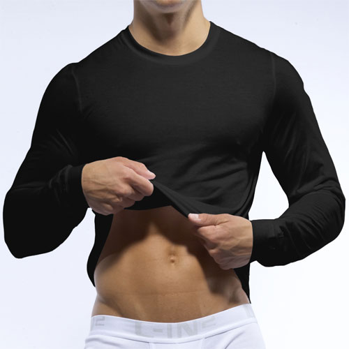 C-IN2 Core Long Sleeved T Shirt Black 4115 AU2