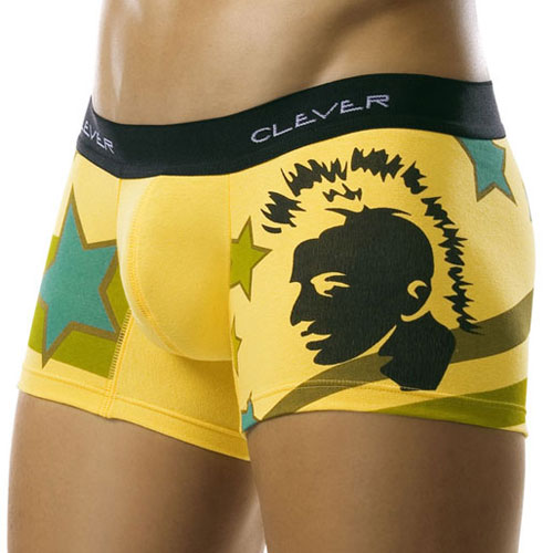 Clever Underwear Punk Stars Boxer Brief 0184 USA1