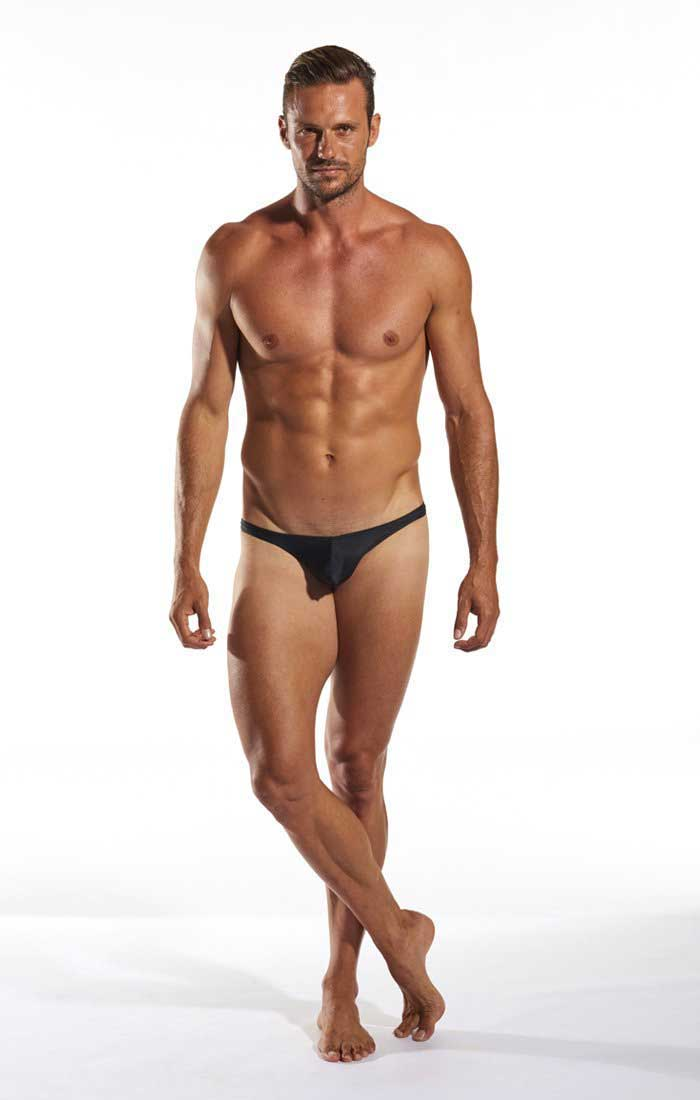 a4546cb7efe Cocksox Solid Thong Swimwear Jet Black CX22 [CX22] : Buy Men's ...