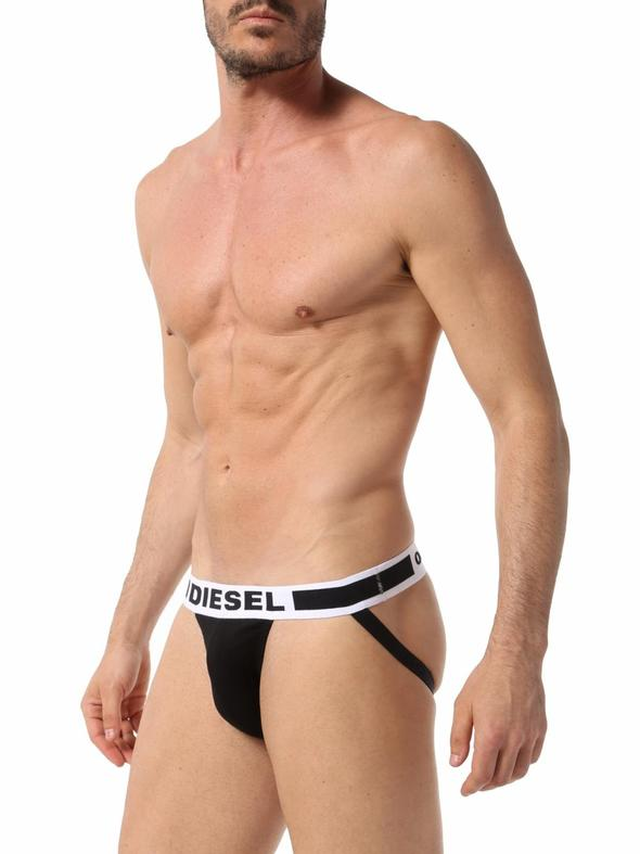 c7f02c2f608b00 Diesel Fresh & Bright Jock Strap Underwear Black : Buy Men's Fashion ...