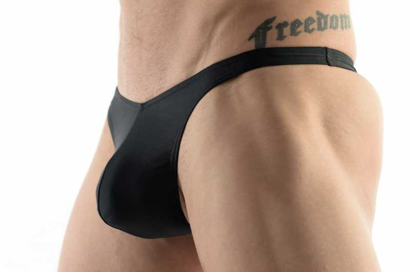 74d3d88992e06 DMXGEAR Sun & Fun Thong Swimwear Black : Buy Men's Fashion Online ...
