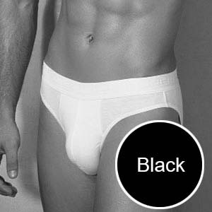 Doreanse Slip Brief Underwear Black 1009