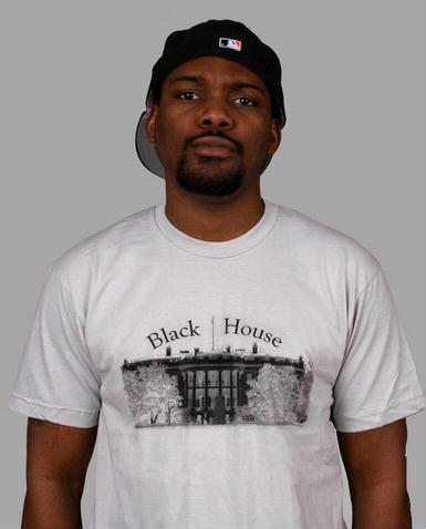 e.5.Charlie Blackhouse Custom Printed T Shirt Silver