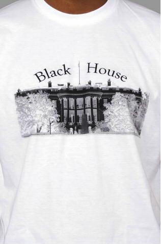 e.5.Charlie Blackhouse Custom Printed T Shirt White