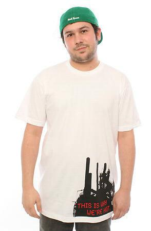 e.5.Charlie It Is Why Custom Printed T Shirt White