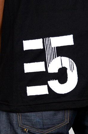 e.5.Charlie Strangelands Custom Printed T Shirt Black