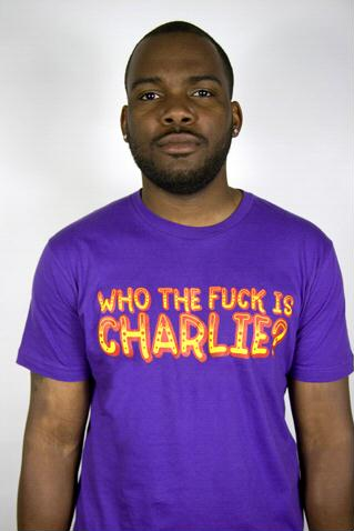 e.5.Charlie Who Custom Printed T Shirt Purple