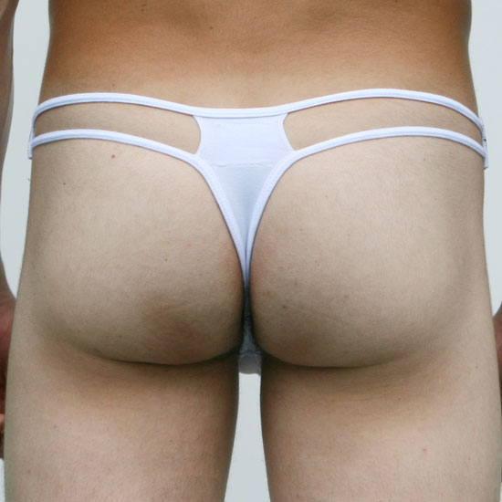 Elite Underwear Thong Mykonos White 7212