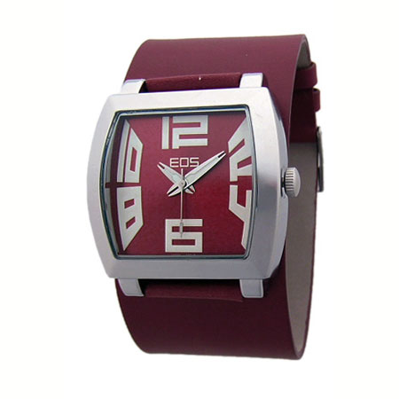 EOS New York CAPONE WIDE Watch Burgundy 31LB