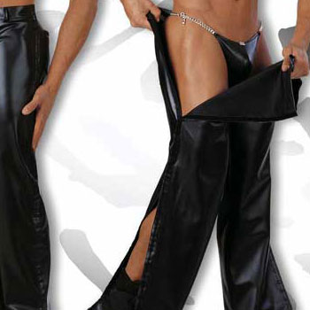 Eros Veneziani Trousers Strip Pants PVC 6759