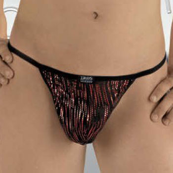 Eros Veneziani Reflections Ring Sock Pouch Underwear 6976