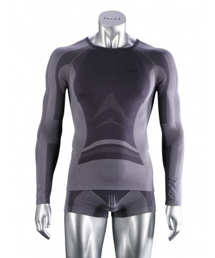 Falke ESS Athletic Cool Long Sleeved T Shirt Graphite 36165