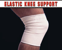 Flarico Elastic Knee Support White F505