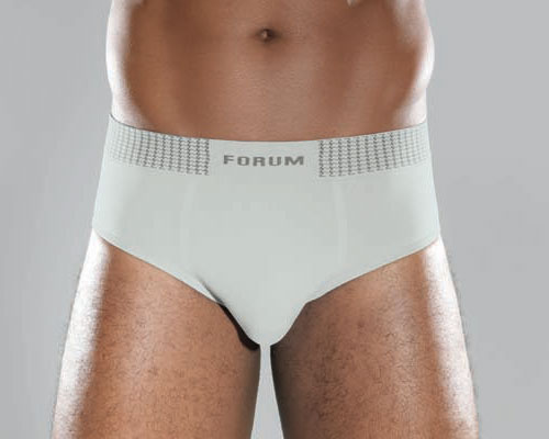 Forum Microfiber Seamless Brief Underwear White 770-05