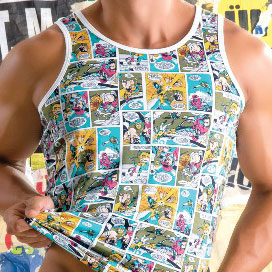 Gigo Comics Tank Top T Shirt COMA3