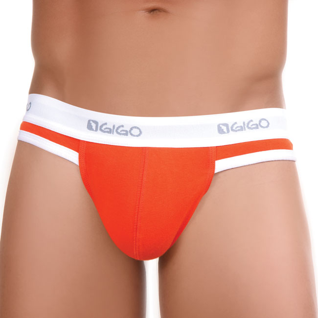 Gigo Hot Orange G String Underwear
