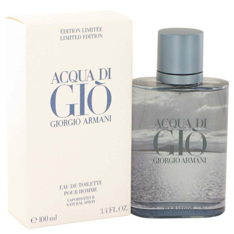 58abdd9b8a Giorgio Armani Acqua Di Gio Blue Edition Eau De Toilette Spray (Limited  Edition) 3.4