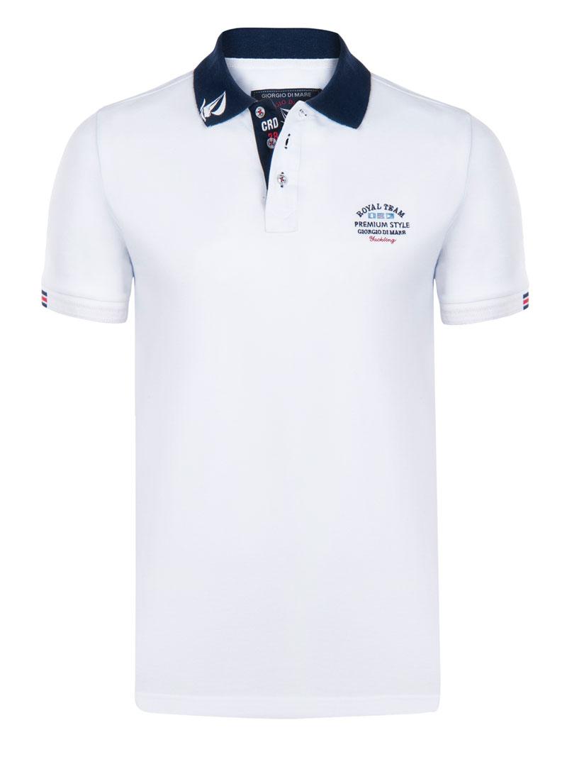 Mare Polo Sleeved Di Giorgio Shirt White Gi4746669gi4746669 Short N8wOvmn0